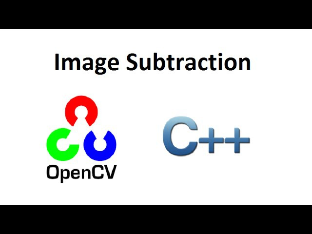 OpenCV 3 Image Subtraction C