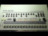 Learn how to program and use a Roland TR 909 or 09 Drum Machine in 909