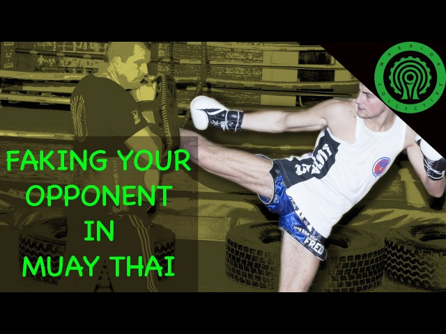 Muay Thai Faking your Opponent Tutorial