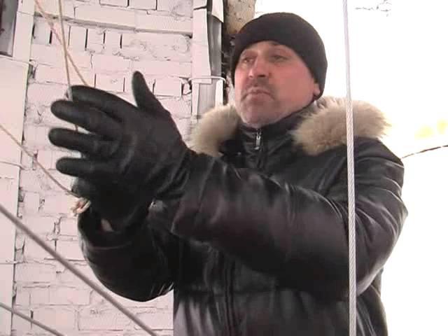 Урок колокольного звона Владимира Петровского на колокольне храма Иоанна Богослова г Барнаула