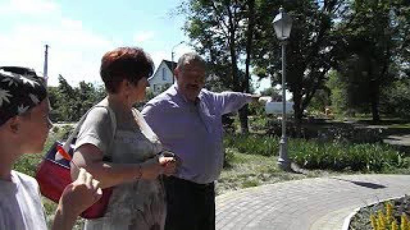 Чергова цікава екскурсія по місту з міським головою Миронівки Віталієм Савенком