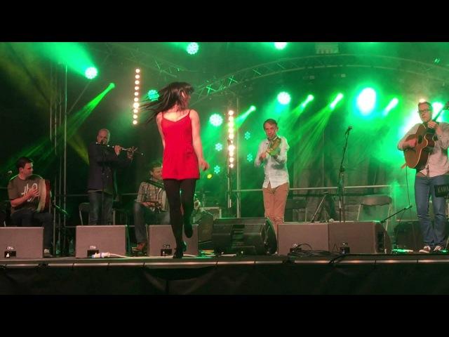 Téada w/ Samantha Harvey Emma O'Sullivan @ Fleadh Cheoil Gig Rig 2015, Sligo
