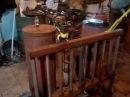 Вот он! мой газогенератор обращённого процесса.wood gasifier.