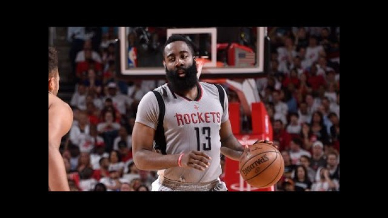 James Harden's 28/5/12 Helps Rally Rockets to Game 4 Victory   May 7, 2017