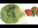 Шоколадный #фондан с белым шоколадом и зеленым чаем #Матча  #LudaEasyCook b