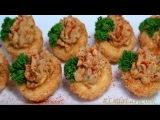 Фаршированные ЯЙЦА во фритюре Необычная подача блюд закусок - Deep fried deviled eggs