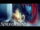 Undyne and Alphys (Speedpaint) - UNDERTALE Goodbye Undyne YAMSGARDEN COLLAB
