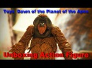 Unboxing Toys Dawn of the Planet of the Apes - Action Figure Maurice