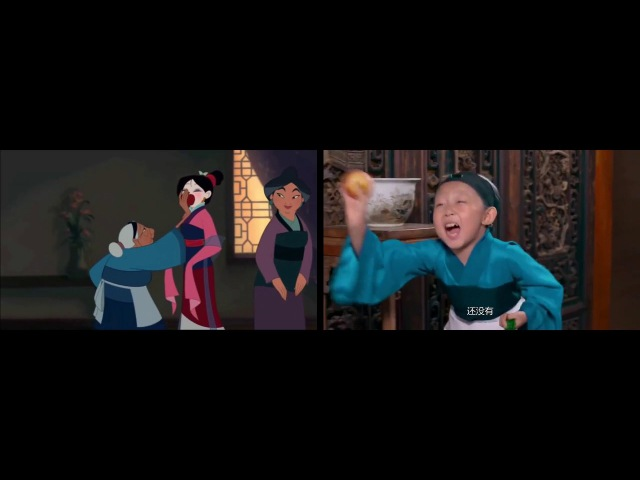 Little Actors and Actresses Mulan Honor to Us All vs Disney Original