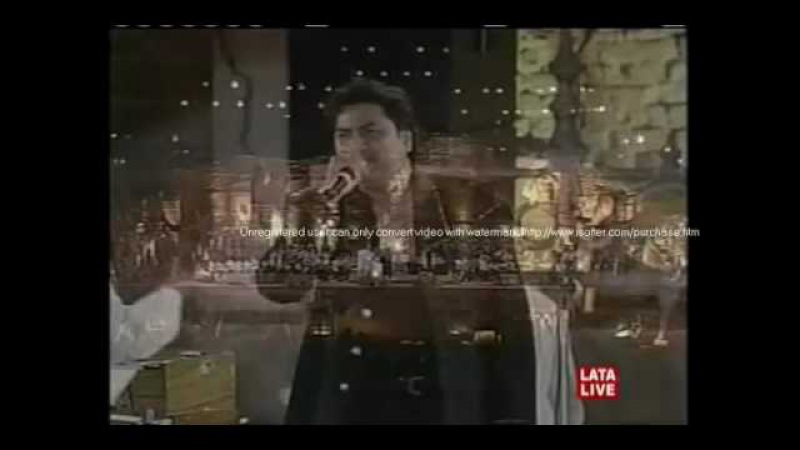 Kumar sanu stage show tum dil ki dharkan mein12345