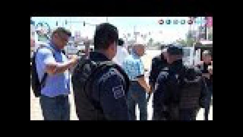 Pleito de terrenos Marina Armada de México y comerciantes de Manzanillo, termina en desalojo ilegal.