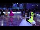 WDC. Кубок Кремля. Европейские танцы. Любители. Вальс. Гори,гори, моя звезда
