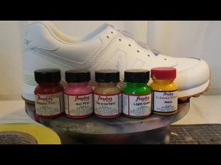 Как можно перекрасить кроссовки New Balance [ИЩУ ЖИРНЫЙ УЛОВ]