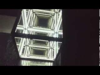 Лампа куб с эффектом бесконечности(Infinity mirror cube)