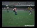 Brasil x Paraguai pelas Eliminatórias da Copa do Mundo 70