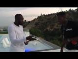 O momento em que Lukaku confirma a Pogba que vão jogar juntos no Manchester United