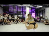 FRAULES twerk workshops Moscow january 2016 - She twerkin