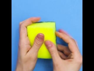 5 умных способов, как использовать кухонную губку