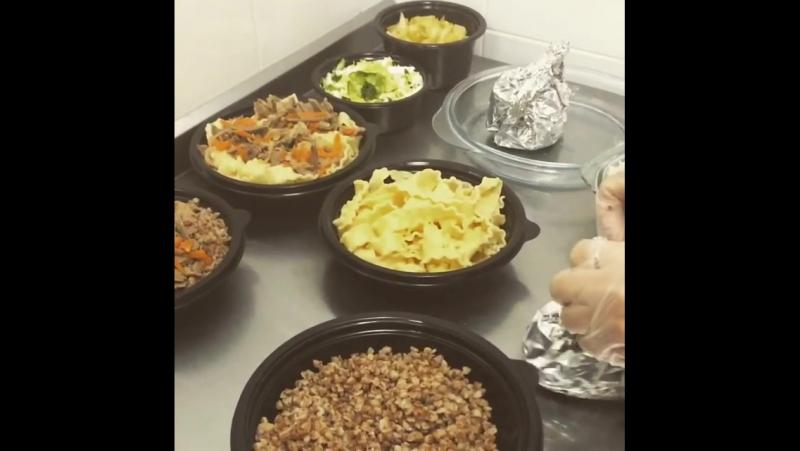 Аппетитные блюда для наших клиентов:)