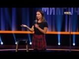 Порнозвезда из Смоленска Ангелина Дорошенкова выступила на «Открытом микрофоне»