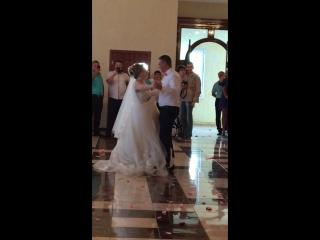 ВаняЮля первый наш танец!!!