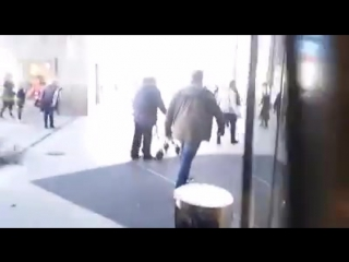 EXKLUSIV-VIDEO: MESSERATTACKE VON ASYLANTEN IN DESSAU!