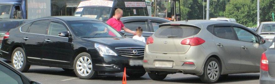 Водителям разрешили бить чужое авто, если нет другого выхода
