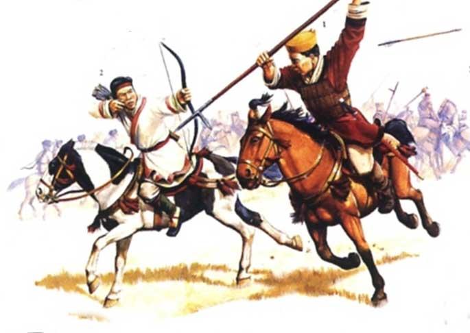 Конница из войск династии Хань
