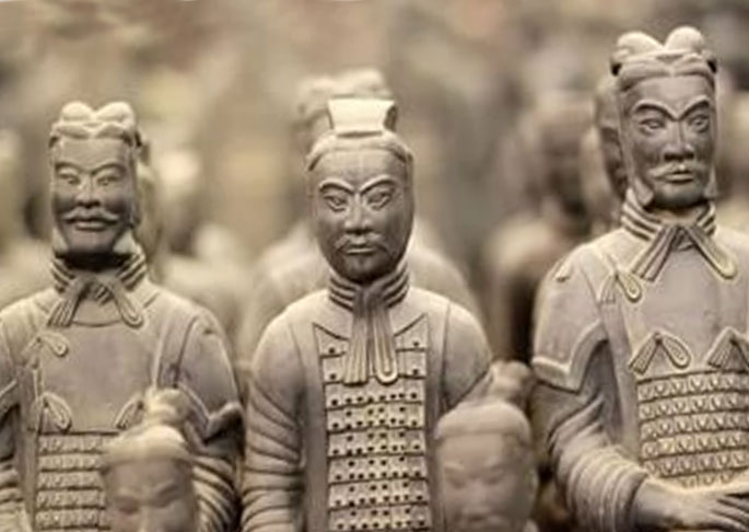Войска Китая в древности