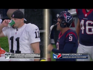 Wild Card Weekend Oakland Raiders@Houston Texans part 1