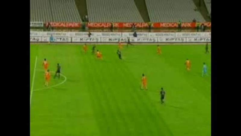 2008 - 2009 Sezonu - Büyükşehir Belediyespor-Beşiktaş dakika 4 gol Holosko
