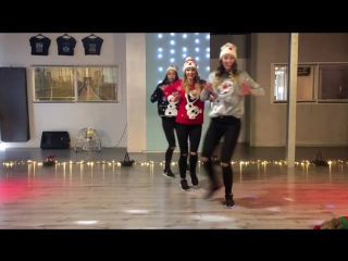 Christmas Dance - Baile de Navidad - Let it Snow - Jessica Simpson - Easy Fitnes