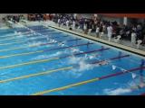 Мальчики 50 в/с 4 заплыв