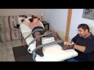 Nylons Vs Bare Feet For The Ultra Ticklish Calissa