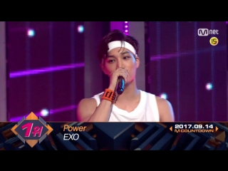 CUT 170914 Mnet M!CountDown: Full Encore Stage @ EXO