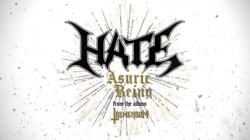 HATE - Asuric Being (Edit) (Official Lyric Video) _ Napalm Records