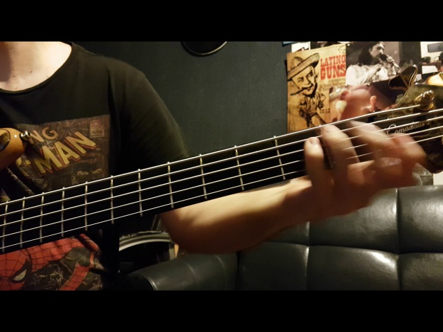Jamiroquai - Time Won't Wait, bass cover!😎