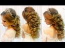 Свадебная прическа на длинные волосы🌹 Греческая коса 🌹 Wedding hairstyle for long hair🌹