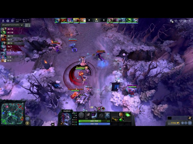 Dota 2 D C vs Team Fr0M G0d Game 1