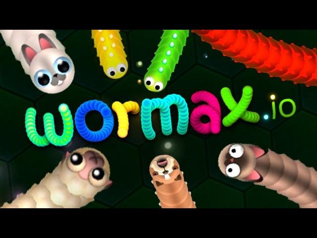 Wormax.io набрал 18 тысяч массы
