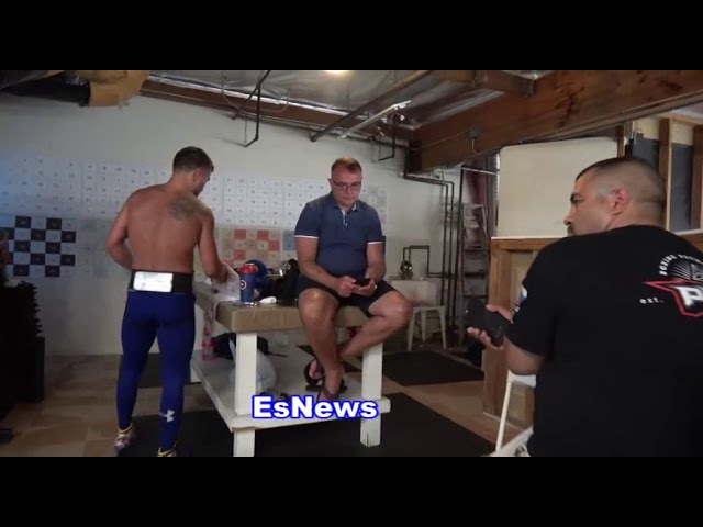 Vasyl Lomachenko P4P Boxing Champ Another Day In Camp - EsNews Boxing