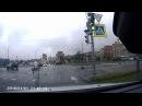 Авария с участием мотоцикла на Туполевской