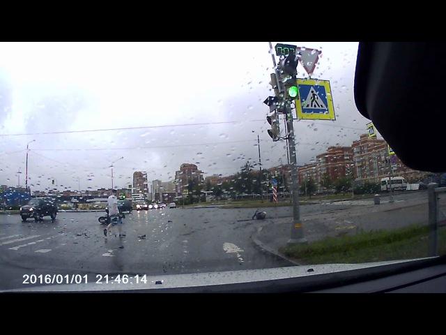 Авария с участием мотоцикла на Туполевской смотреть онлайн без регистрации