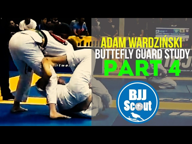 BJJ Scout: Adam Wardziński Butterfly Guard Study Part 4 - Standers