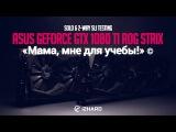 «Мама, мне для учебы!» или Одиночное и 2-way SLI тестирование ASUS GeForce GTX 1080 Ti ROG STRIX