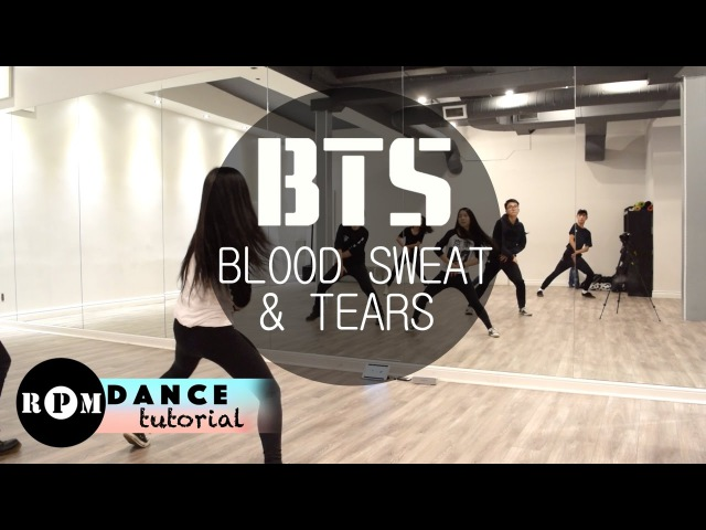 BTS Blood Sweat Tears Dance Tutorial (Chorus)