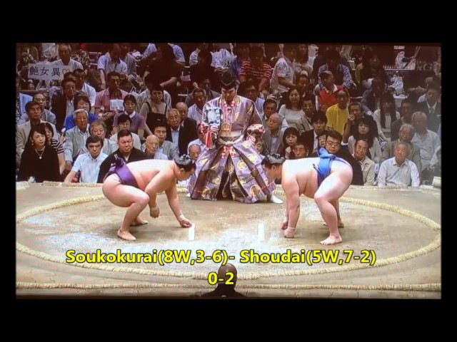 Sumo -Natsu Basho 2017 Day 10, May 23rd -大相撲夏場所 2017年 10日目
