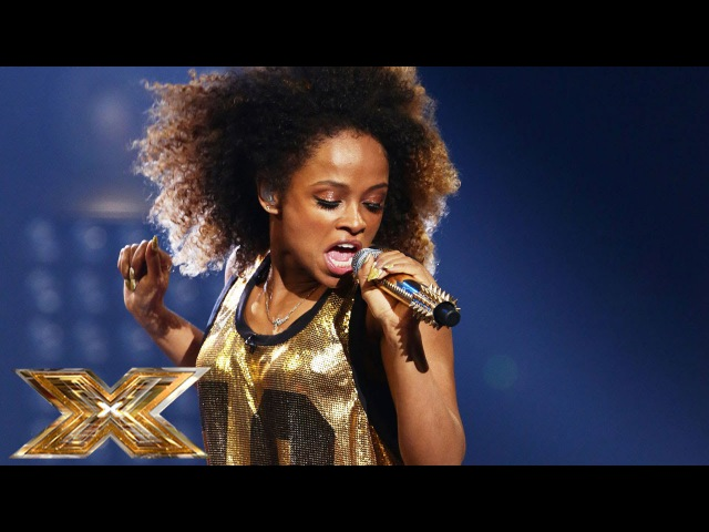 Fleur East sings Bruno Mars Mark Ronson's Uptown Funk | The Final Results | The X Factor UK 2014