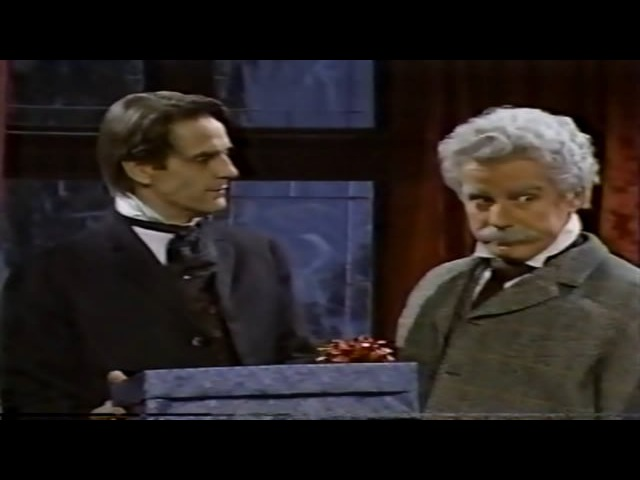 SNL - Sherlock Holmes Surprise Party (Jeremy Irons) - 1991