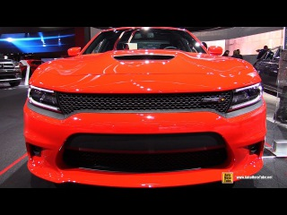 2017 Dodge Charger 392 HEMI Scat Pack - Exterior and Interior Walkaround - 2017 Detroit Auto Show